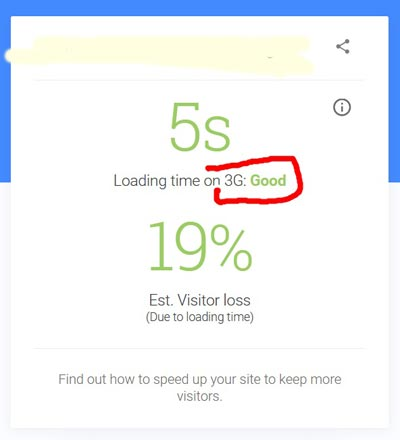 Google test your mobile speed: nagyon szigorú