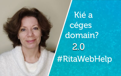 Kié a céges domain? 2.0